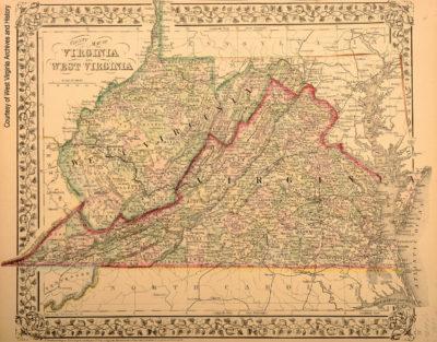 Virginia and West Virginia